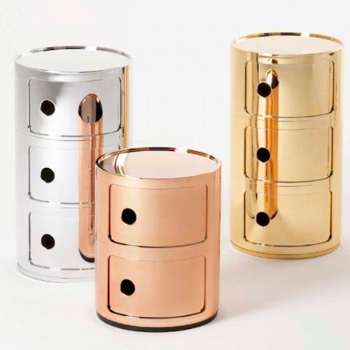 kartell-precious-componibili-round-2-or-3-element-unit