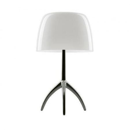 Foscarini-LUMIERE-05-Lampe-Grande-Noir-ChromYo-Blanc-628-1