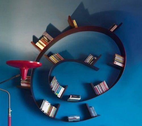 Creative-Bookcase-by-Kartell-–-Bookworm-2-500x442
