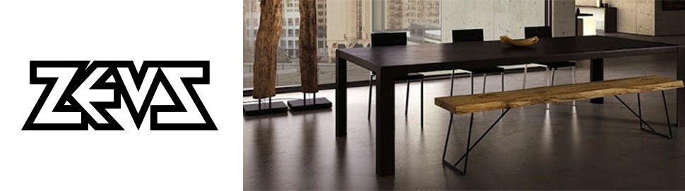 table-zeus-métal