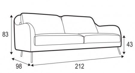 KARIN-3-seater-sofa-SITS-canapé-plan